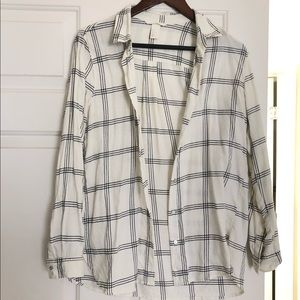 Lightweight plaid print H&M